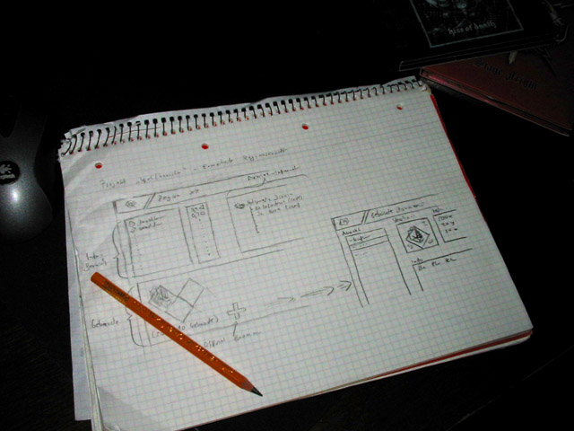 the best tool for doing game design related stuff may it be writing down ideas or drawing graphics is a piece of paper or a